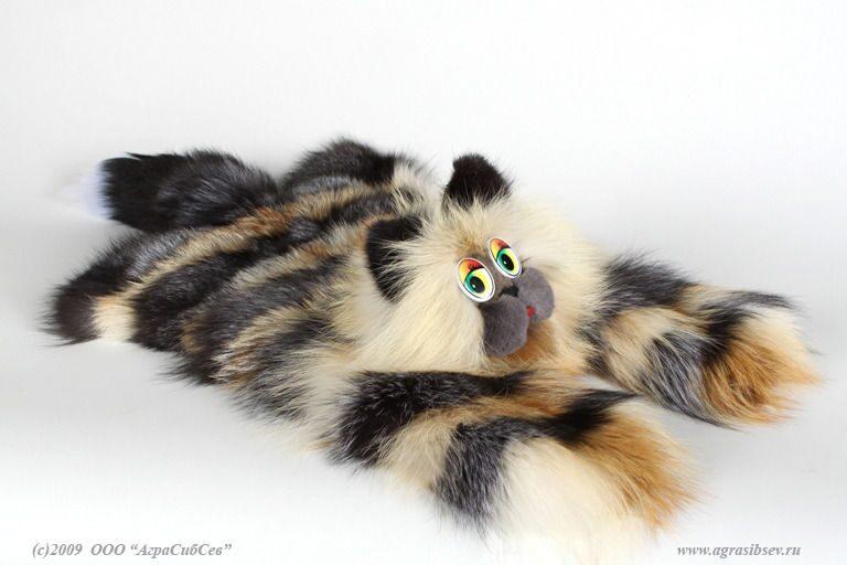 Игрушки для котов  из меха
