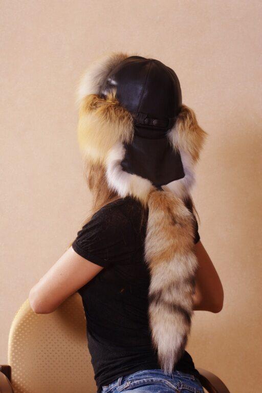 Шапка малахай из лисы своими руками